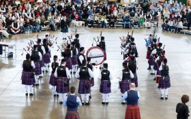 Glengarry Pipe Band 2014