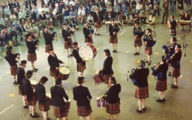 Toronto & District Pipe Band - 1980